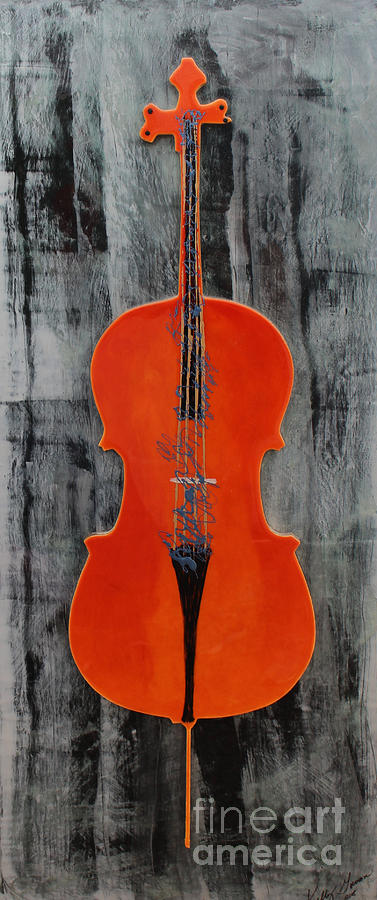The Cello by Kelly Gowan