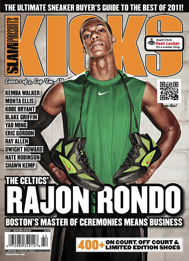 The Celtics Rajon Rondo: Bostons Master of Ceremonies Means Business SLAM Cover Photograph by Atiba Jefferson