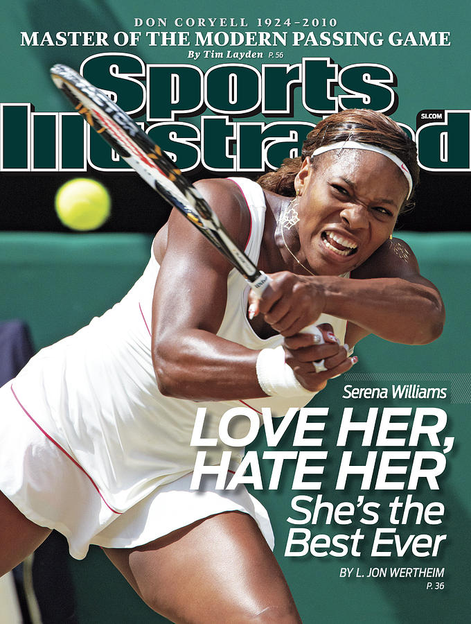 The Championships - Wimbledon 2010 Day Twelve Sports Illustrated Cover Photograph by Sports Illustrated