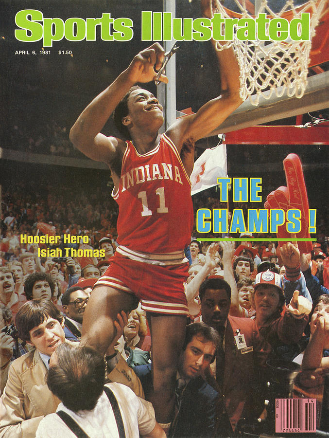 The Champs Hoosier Hero Isiah Thomas Sports Illustrated Cover Photograph by Sports Illustrated