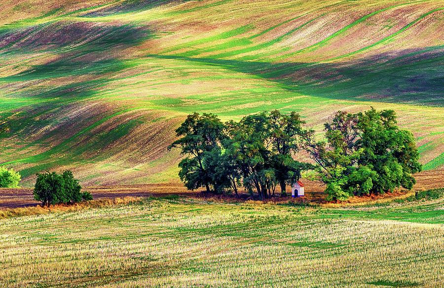 Moravia Photograph - The Chapel of Saint Barbara by Andrei Dima