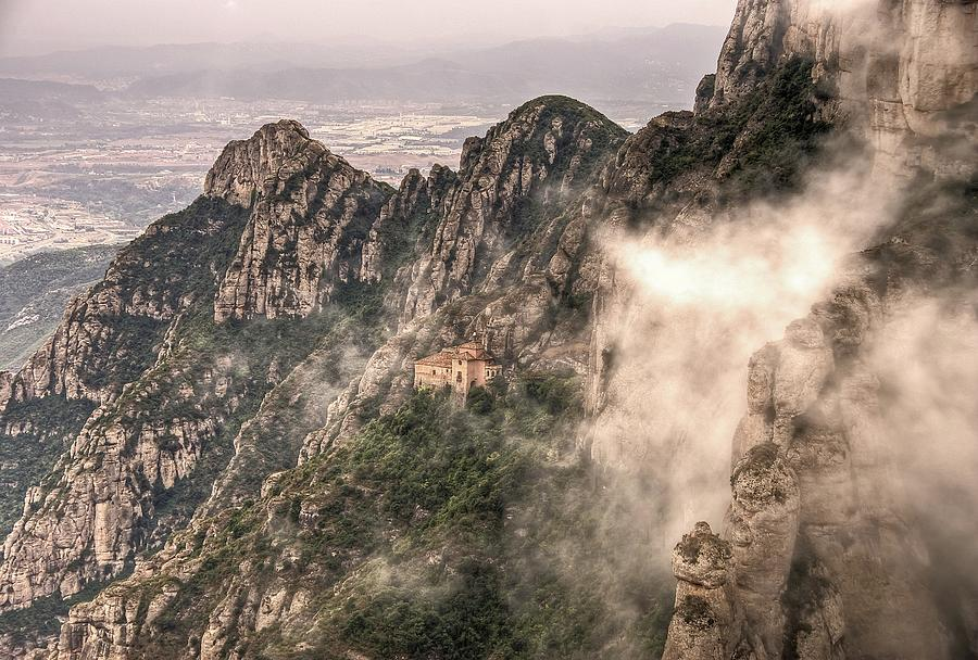 The Chapel On Top Of The Sacred Cave In Photograph by David Desousa Drumond Photography