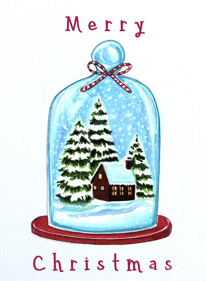 The Christmas Terrarium by Elizabeth Robinette Tyndall