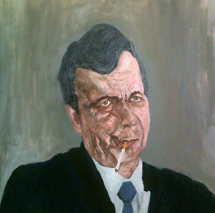 The Cigarette-smoking Man by Peter Gartner