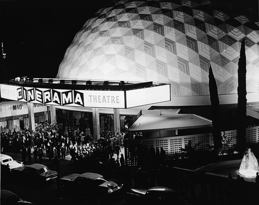 The Cinerama Dome Theatre In Hollywood Photograph by American Stock Archive