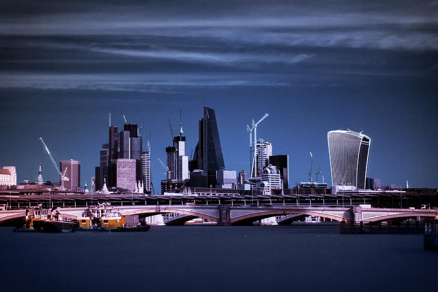 The City of London by Helga Novelli
