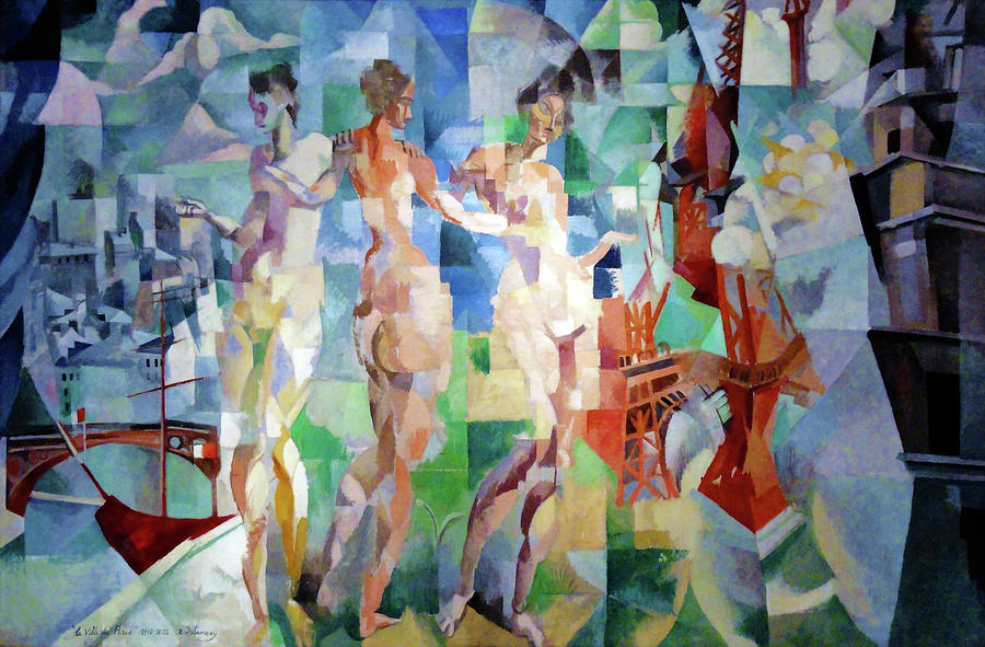 The city of Paris - Digital Remastered Edition by Robert Delaunay