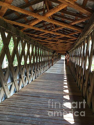 The Clarkson Covered Bridge by Barb Dalton