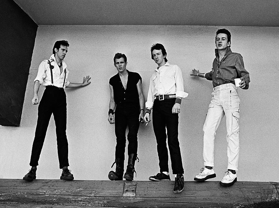 Rock Music Photograph - The Clash Portrait Session by George Rose