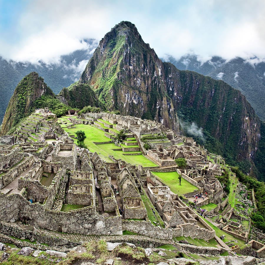 The Classic Shot Of Machu Picchu Photograph by Nicolamargaret