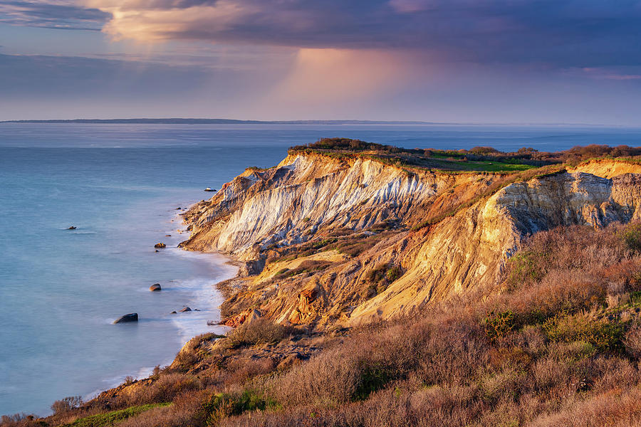The Cliffs at Aquinnah by Michael Blanchette