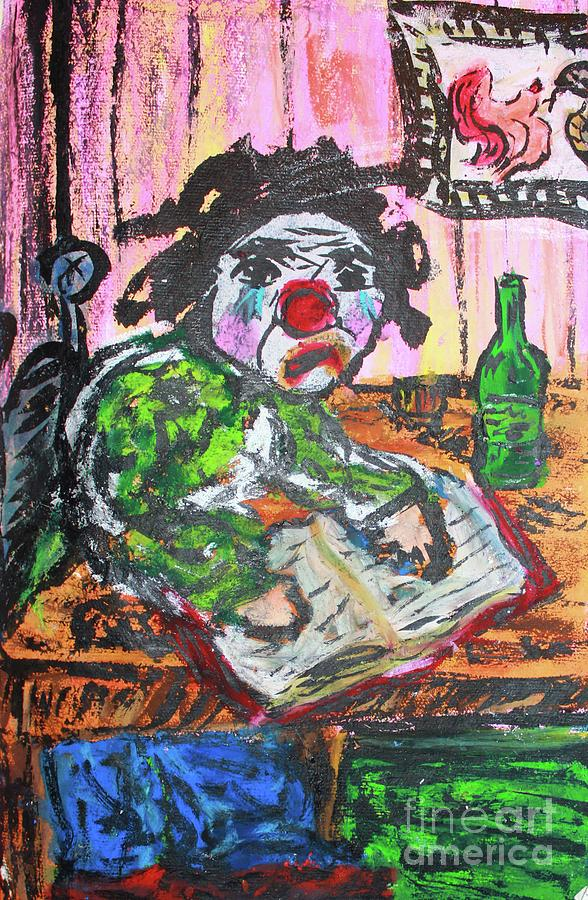 The Clown After Hours by Odalo Wasikhongo