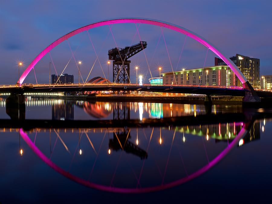 The Clyde Arc Reflected by Stephen Taylor