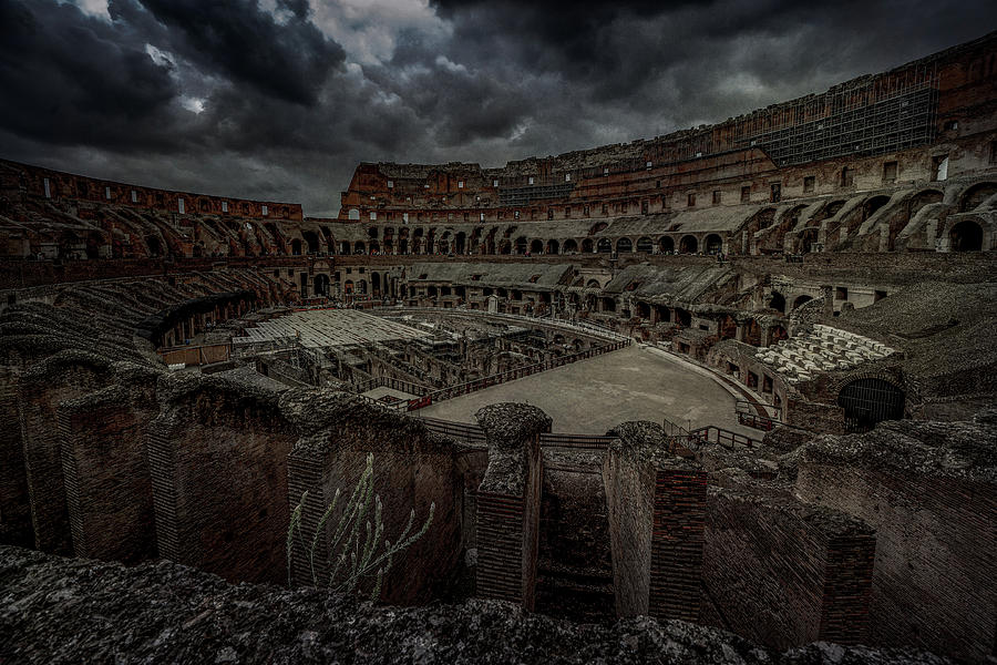 The Coliseum Interior by Chris Lord