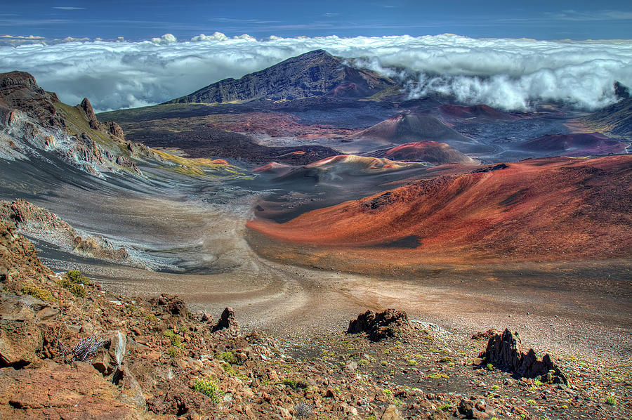 The Colorful Haleakala Crater, Maui Photograph by Pierre Leclerc Photography