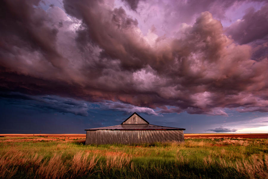 The Colors Of Cheyenne Wells by Brian Gustafson