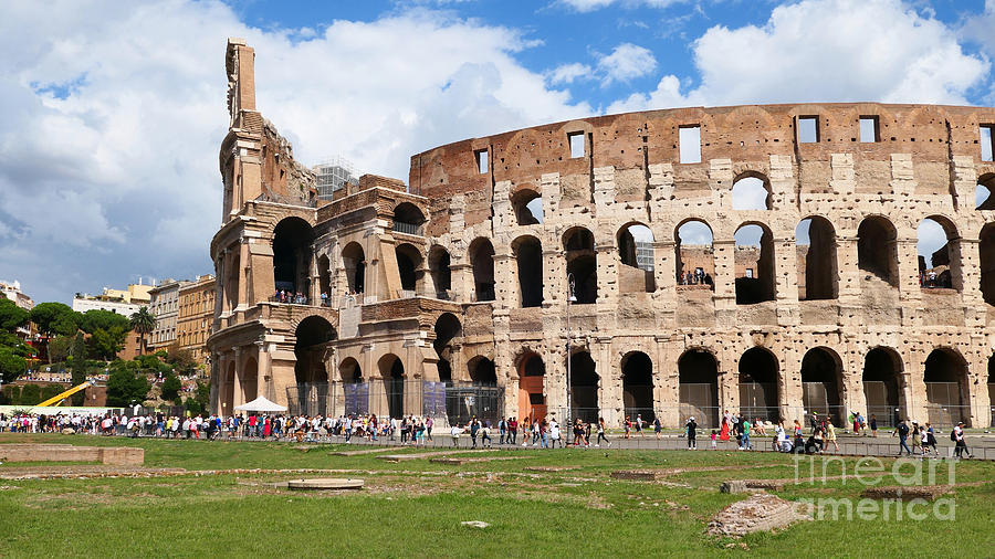 The Colosseum Rome by Peter Skelton