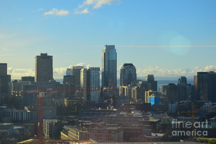 Downtown Columbia Center by L J Frare