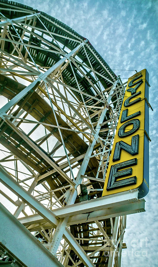 The Coney Island Cyclone by James Aiken