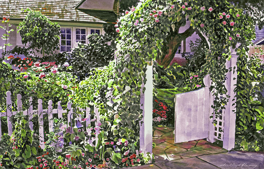THE COTTAGE GATE by David Lloyd Glover