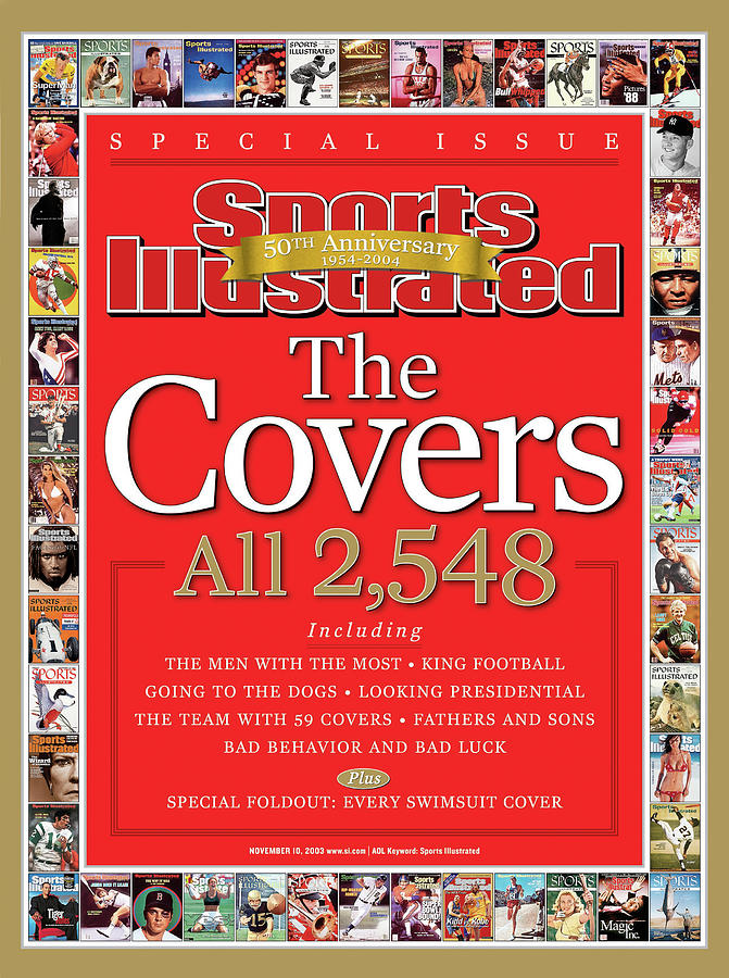 The Covers, 50th Anniversary 1954-2004 Sports Illustrated Cover Photograph by Sports Illustrated