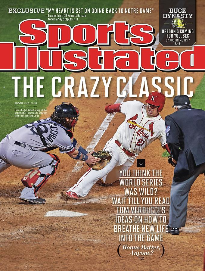 The Crazy Classic Sports Illustrated Cover Photograph by Sports Illustrated