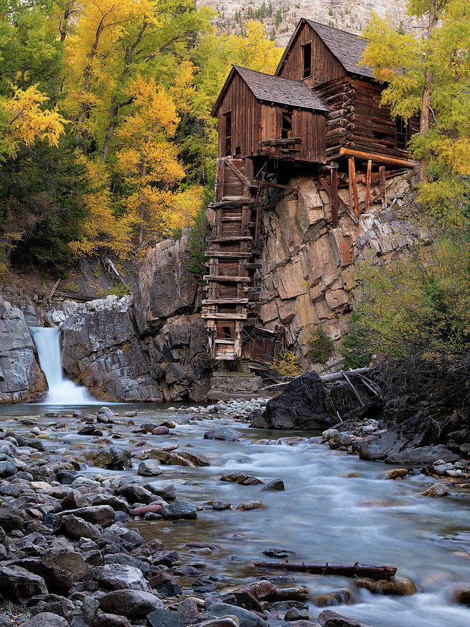 The Crystal Mill by Patrick Campbell