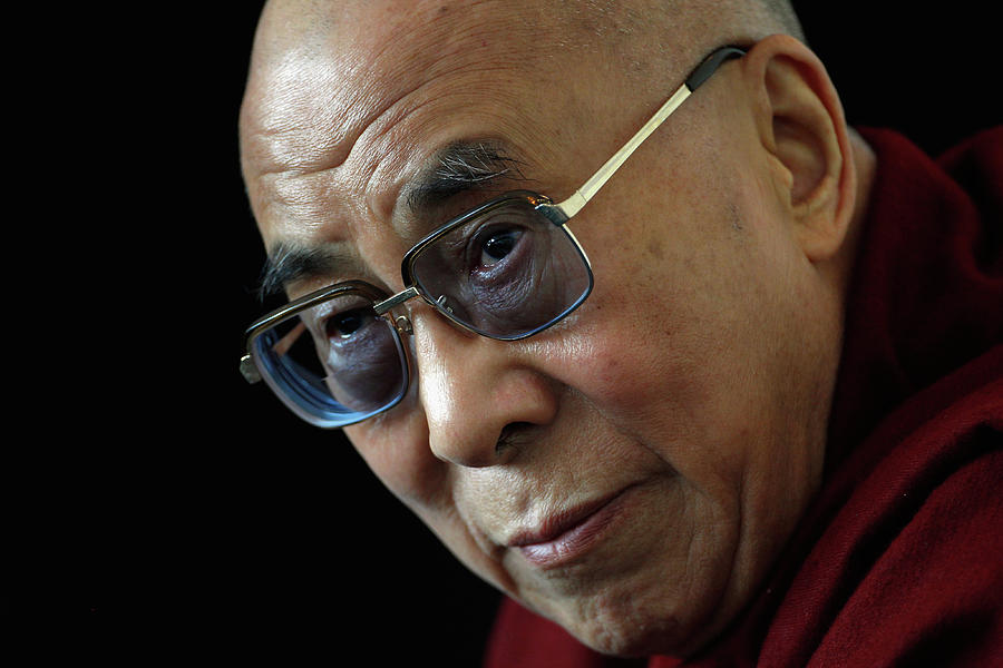 The Dalai Lama Visits The Uk Photograph by Christopher Furlong