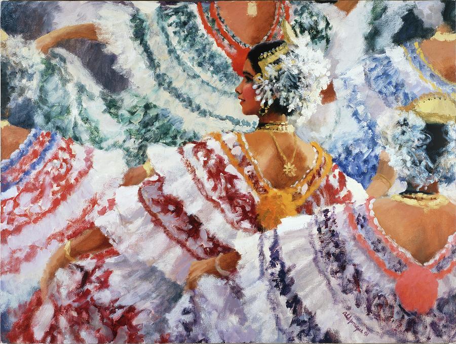 Panama Painting - The Dance by Al Sprague