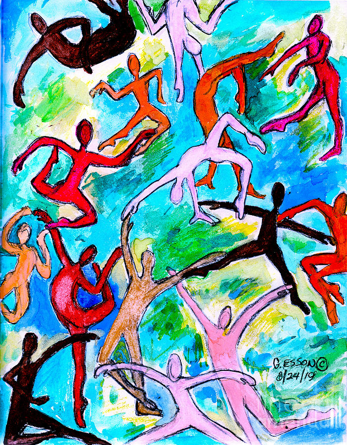 The Dance Of Life by Genevieve Esson