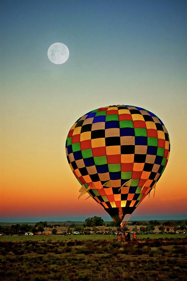 The Dawn of Light, 2017 Albuquerque International Balloon Festival by Flying Z Photography by Zayne Diamond