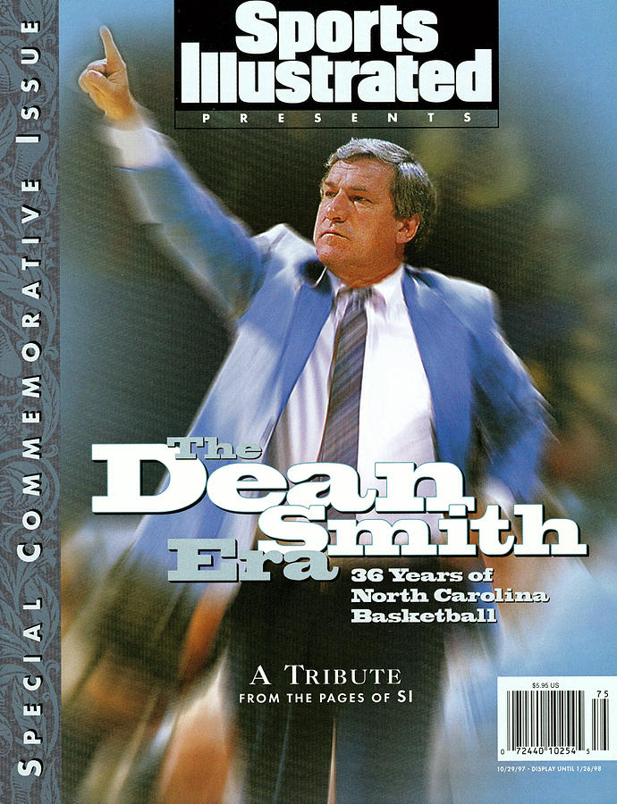 The Dean Smith Era 36 Years Of North Carolina Basketball, A Sports Illustrated Cover Photograph by Sports Illustrated