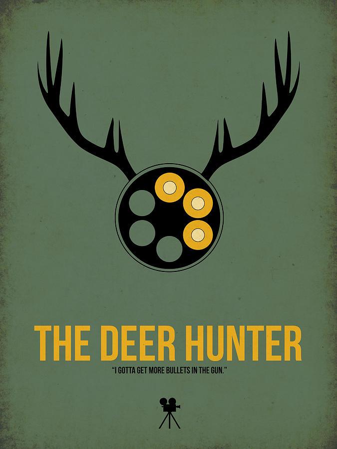 The Deer Hunter Digital Art - The Deer Hunter by Naxart Studio