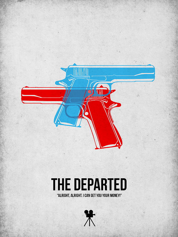 The Departed Digital Art - The Departed by Naxart Studio