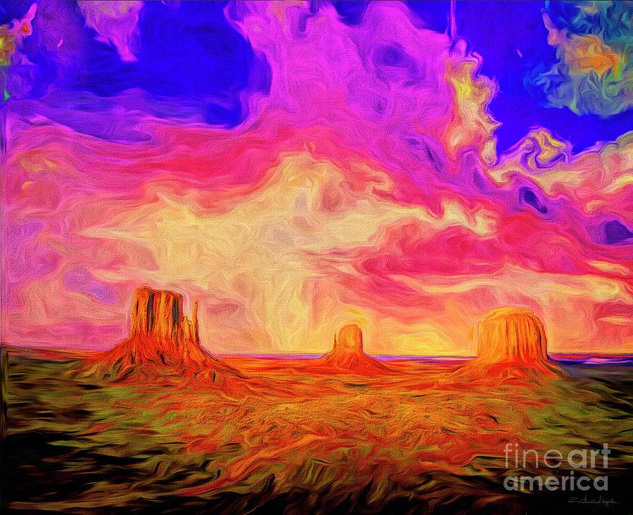 The Desert by Edmund Nagele
