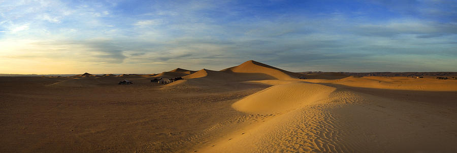 The Desert Near Mhamid Photograph by Maremagnum