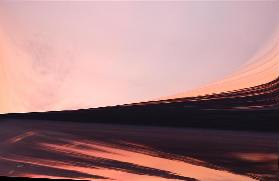 The Desert Sand Sunsetting by Roy Erickson
