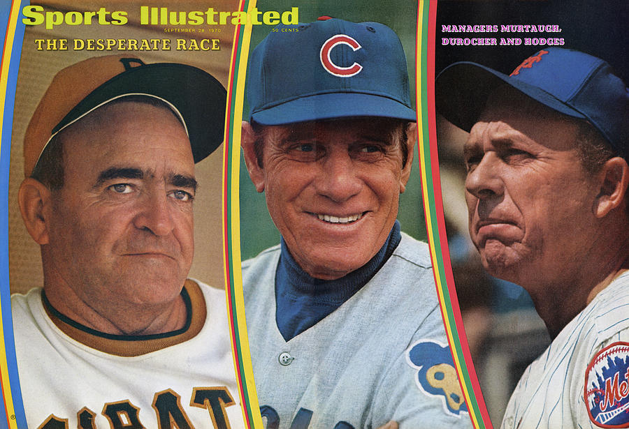 The Desperate Race Managers Murtaugh, Durocher And Hodges Sports Illustrated Cover Photograph by Sports Illustrated