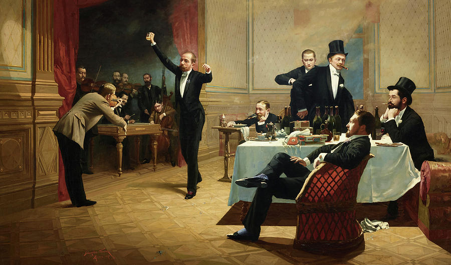 https://images.fineartamerica.com/images/artworkimages/mediumlarge/2/the-dinner-party-ferencz-paczka.jpg