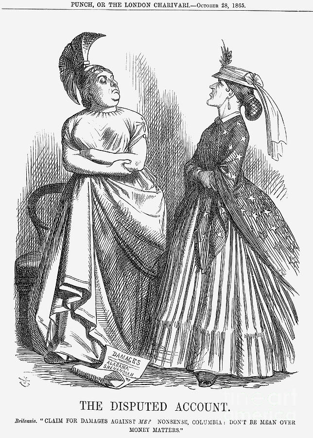 The Disputed Account, 1865 Drawing by Print Collector