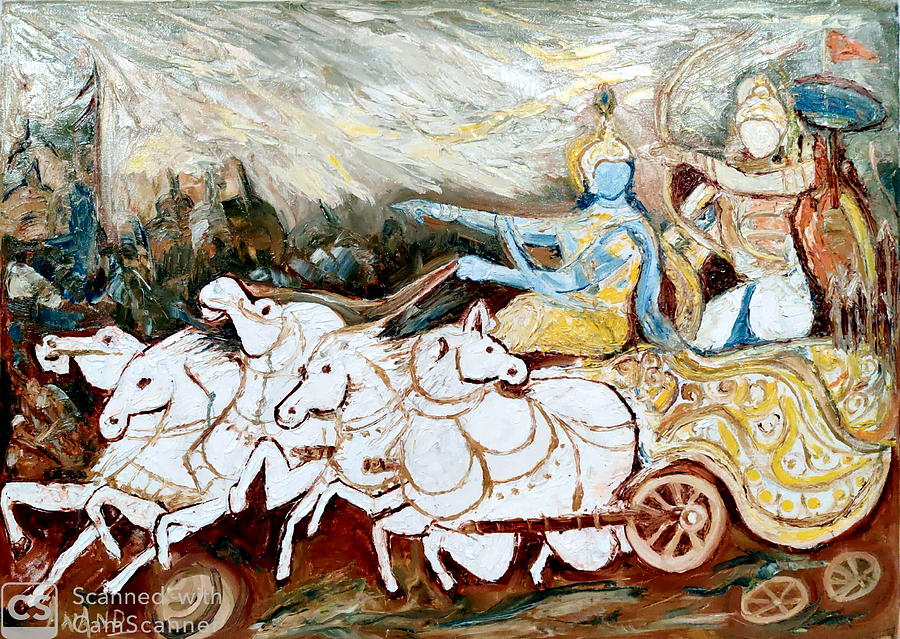 THE DIVINE CHARIOT by Anand Swaroop Manchiraju