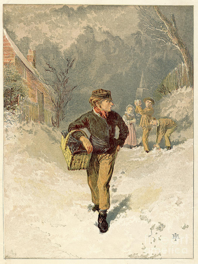 The Doctors Boy, 1866 Drawing by Print Collector