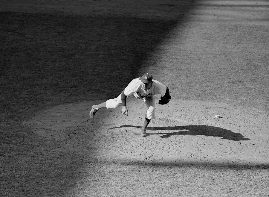 The Dodgers Hal Gregg, In Action In The Photograph by New York Daily News Archive