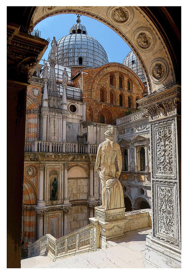 The Doge's Palace Venice Italy by Robert Blandy Jr