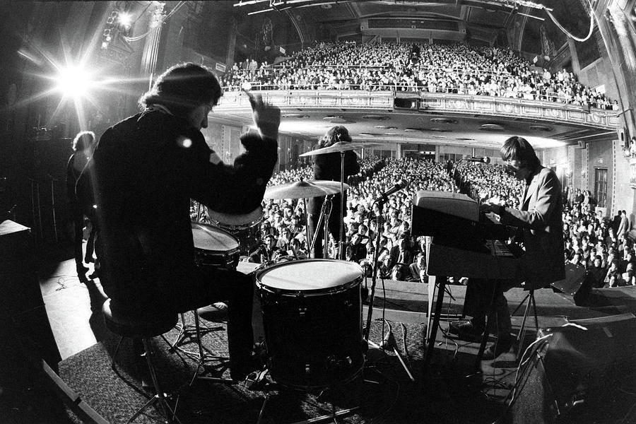 The Doors Drummer John Densmore, Singer Photograph by Yale Joel