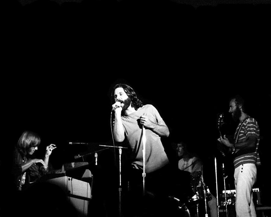 The Doors Live Photograph by Larry Hulst