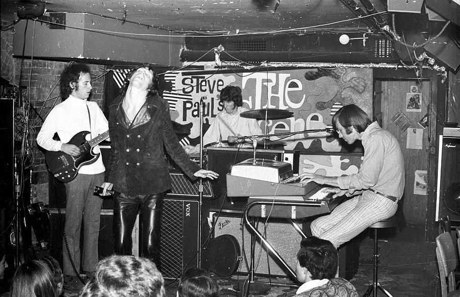 The Doors Perform At Steve Pauls The Photograph by Michael Ochs Archives