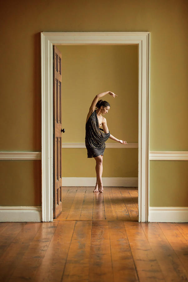 Ballet Photograph - The Doorway by Ross Oscar