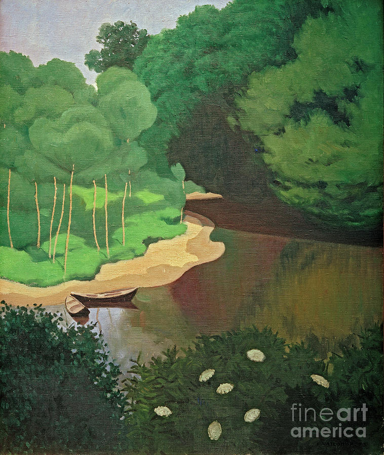 The Dordogne near Carennac by Felix Vallotton