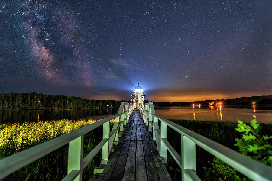 The Doubling Point Lighthouse by Mark Papke